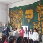 Отбелязване на националния празник на Република България- 3 март с присъствието на кмета на община Враца-Калин Каменов.